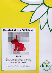 Rabbit Daisy Designs Fun Stitch Card Kits