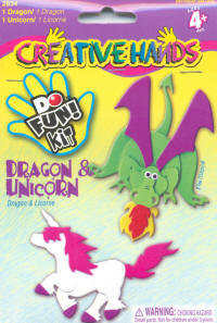 Do Fun Foam Kits - Dragon & Unicorn