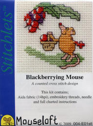 Blackberrying Mouse