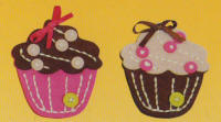 Kleiber Mini Felt Kits - Cup Cakes - click to see packaging