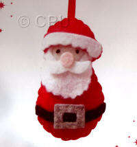 DoCrafts Mini Soft Christmas Kits - Father Christmas