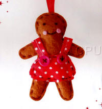DoCrafts Mini Soft Christmas Kits - Gingerbread Lady