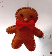 DoCrafts Mini Soft Christmas Kits - Gingerbread Man
