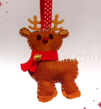 DoCrafts Mini Soft Christmas Kits - Reindeer