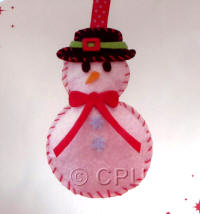 DoCrafts Mini Soft Christmas Kits - Snowman