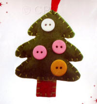 DoCrafts Mini Soft Christmas Kits - Tree