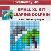 Pixel Hobby - XL Small - Leaping Dolphin