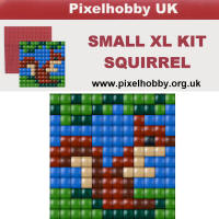 Pixel Hobby - XL Small - Squirrel