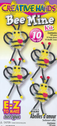 Pompom Kits - Bee Mine