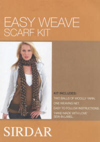Sirdar Weave Kits Brown Colour