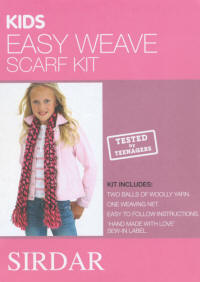 Sirdar Weave Kits Kids Pink Colour