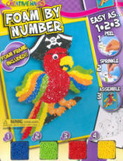 Foam by Numbers Kits